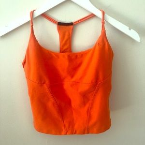NIKE, Dry-fit cropped workout tank